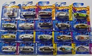 Hot Wheels Serie von zwanzig zufallige Autos / Modelle