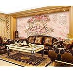 LIWALLPAPER-Carta-Da-Parati-3D-Fotomurali-Fiore-Farfalla-In-Marmo-Rosa-Camera-da-Letto-Decorazione-da-Muro-XXL-Poster-Design-Carta-per-pareti-200cmx140cm