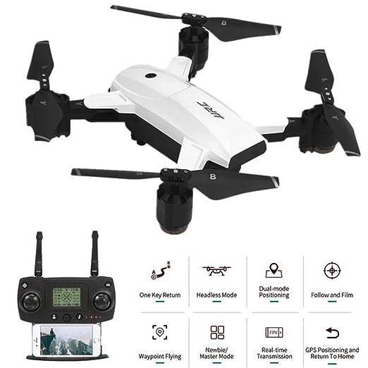 QUARKJK dron con cámara HD 1080P para Adultos WiFi FPV Vídeo en ...