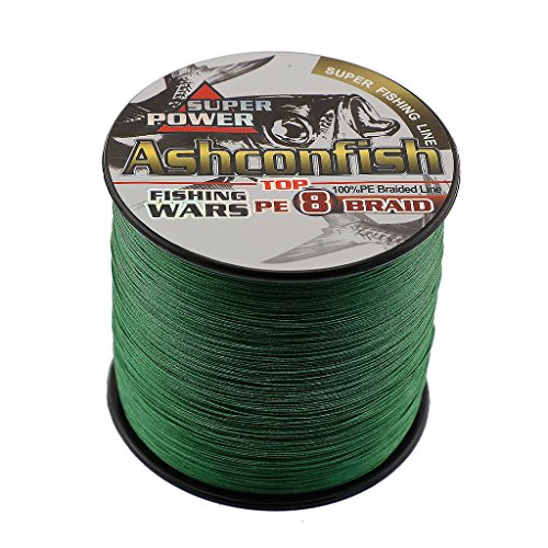 Ashconfish Braided Fishing Line - 8 Strands Super Strong PE Fishing Wire...