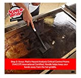 3M Scotch-Brit Quick Clean Griddle Cleaning System