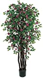 Nearly Natural 5021 Bougainvillea Silk Tree Beauty, 6-Feet