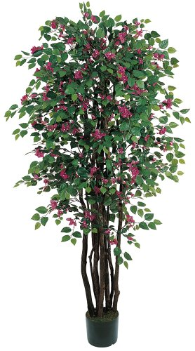 Nearly Natural 5021 Bougainvillea Silk Tree Beauty, 6-Feet by Nearly Natural