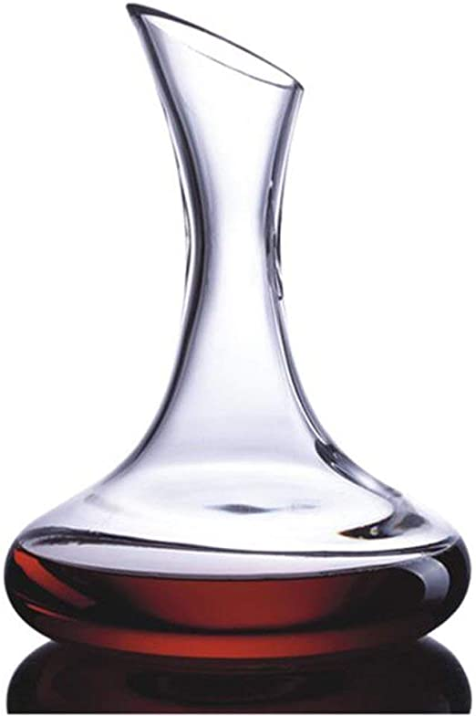 Amazon Com Amlong Crystal Lead Free Crystal Wine Decanter Red Wine Carafe Wine Gift Wine Accessories 58 Oz Large No Stopper Wine Decanters