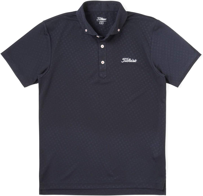 [タイトリスト] ゴルフウェア メンズ ウォーターリペレント 星柄 半袖ポロシャツ TSMC1913 マルチカラー LL