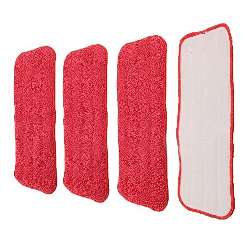 [해외]BleuMoo 교체 마이크로 화이버 패드 스프레이 워터 스프레이 플랫 더스트/BleuMoo Replacement Microfiber Pads Spray Water Spraying Flat Dust Mop