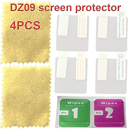 DZ09 smart watch screen protector with 4PCS in one pack