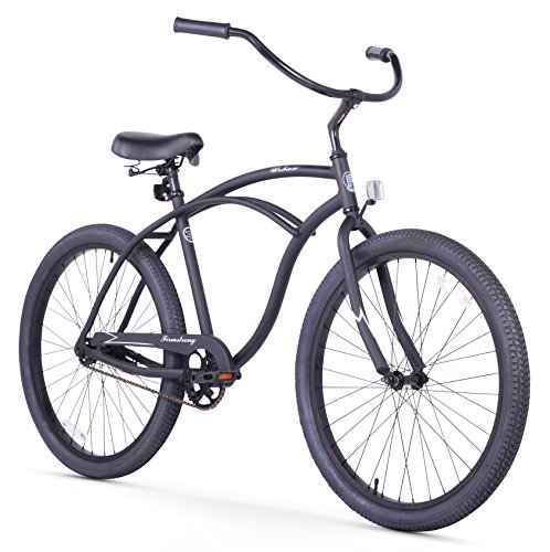Cheap Firmstrong Urban Man Alloy Single Speed Beach Cruiser Bicycle, 26-Inch, Matte Black