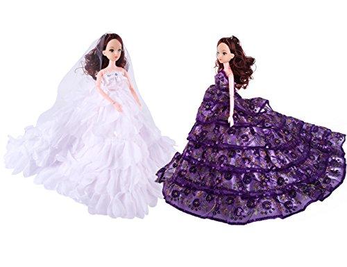 handmade barbie dress - 1