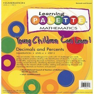 4th Grade Math Learning Palette 4.3 Decimals & (Learning Palette Base)