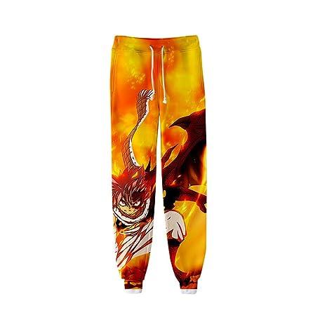 H&Y Anime Fairy Tail Pantalones de chándal Pantalones de ...