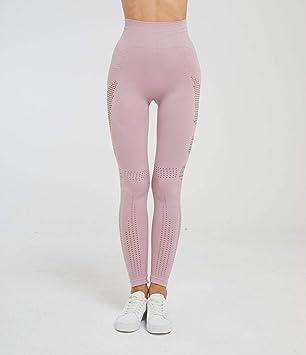 ZCJB Pantalones Yoga Mujer Medias, Estiramiento Alto ...