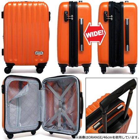 2de553354c Amazon   [アウトドアプロダクツ] スーツケース 当社限定 42L-48L 56cm 3.5kg OD-0628-55W 【PINK】    シューズ&バッグ