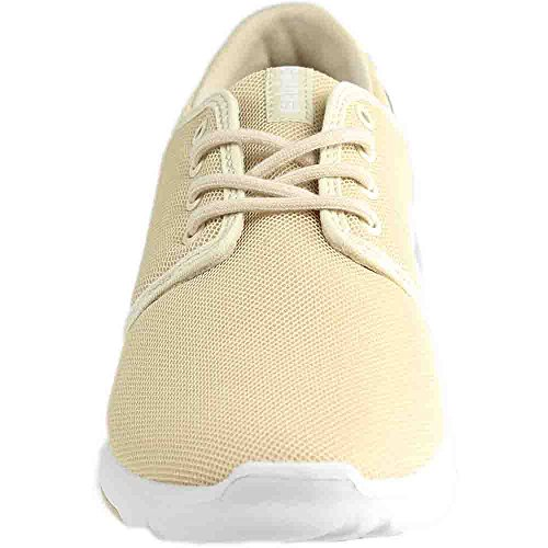 Tan Homme Basses Etnies Sneakers Scout White IwtgWR