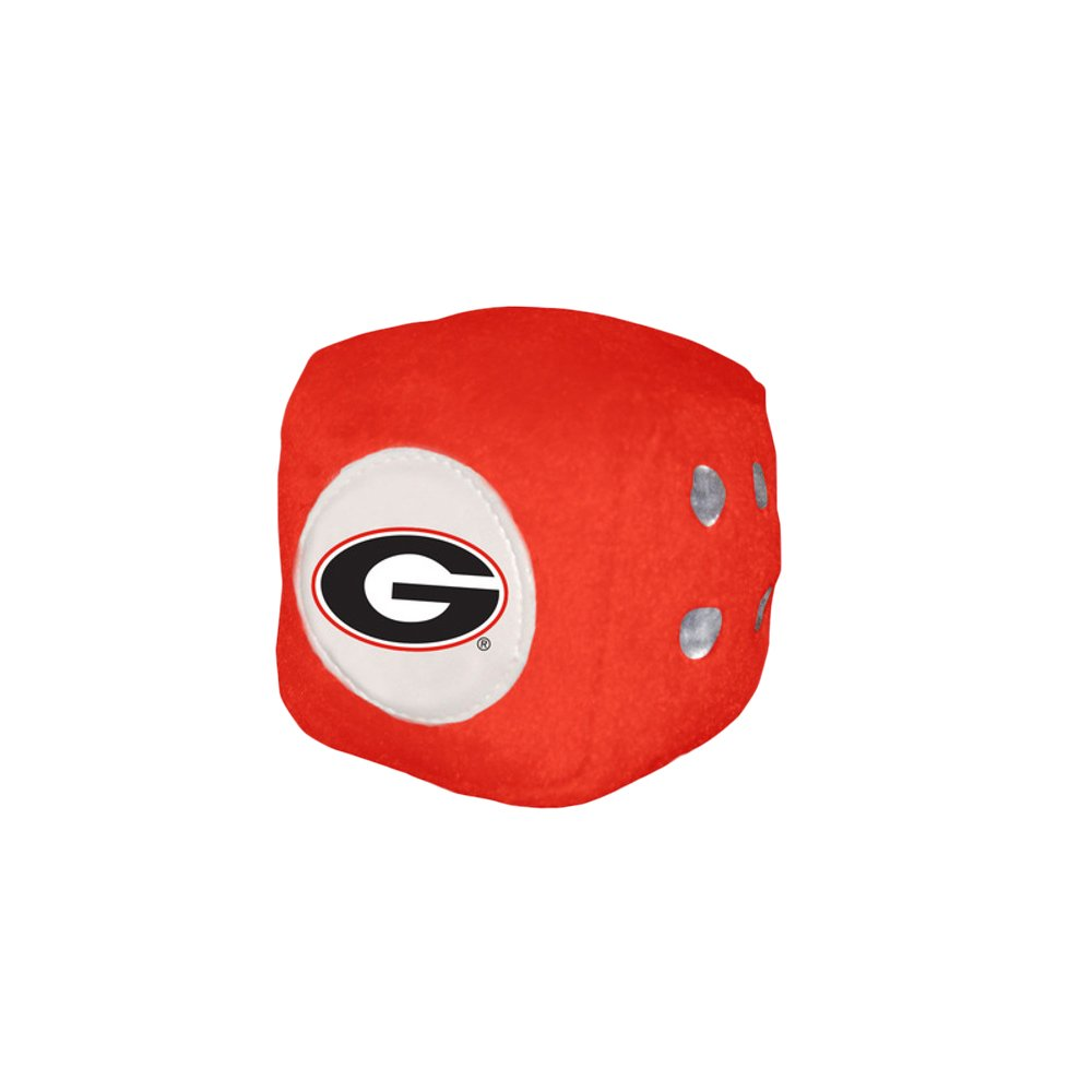 Georgia Bulldogs Fuzzy Dice