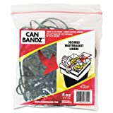Alliance Rubber Can Bands 7-Inchx.12-Inch 50 Bands Black 07810