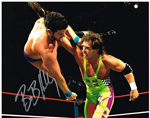 WWE WWF HARDCORE BOB SPARK PLUG HOLLY AUTOGRAPHED 8X10 PHOTO AUTOGRAPH AUTO ()