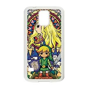 Legend of Zelda 001 Samsung Galaxy S5 Cell Phone Case White xlb2-363374