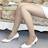 Women Sexy Transparent Pantyhose Silk Footed Stockings Thin Tights Leggings Skin Color