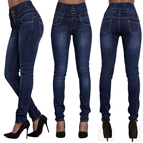 Femme Paperbag Combinaison Fonc Femme Pantalon Jeans Bleu Taille Sac Skinny Mince Slim DChirEs Hot Jean Jean Crayon Beautyjourney Denim Slim Denim Femme Pantalon Pantalon w0qvzC