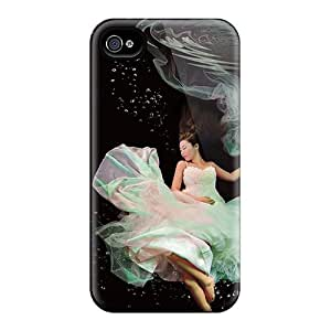 Iphone 4/4s Case, Premium Protective Case With Awesome Look - Underwater Dancers