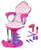 Click N' Play CNP0252 Doll Salon Chair and Accessories, Perfect for 18