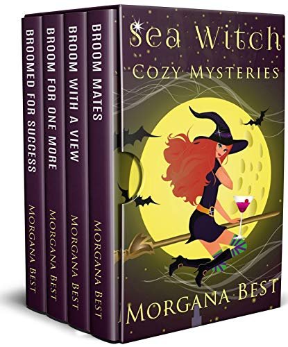 Sea Witch Cozy Mysteries: 4 Book Box Set (Best Hobbies For Women)