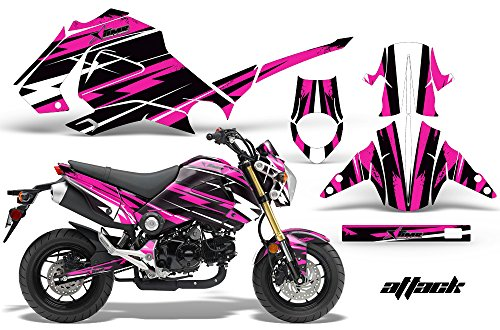 honda grom pink accessories - 1