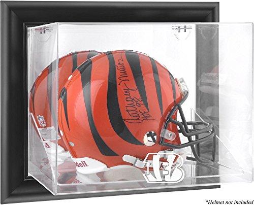 Mounted Memories Cincinnati Bengals Black Framed Wall Mounted Helmet Display by Mounted Memories