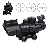 Best Tactical Rifle Scopes - Goetland 4x32 Rifle Scope Tactical Prismatic Glass Crosshair Review