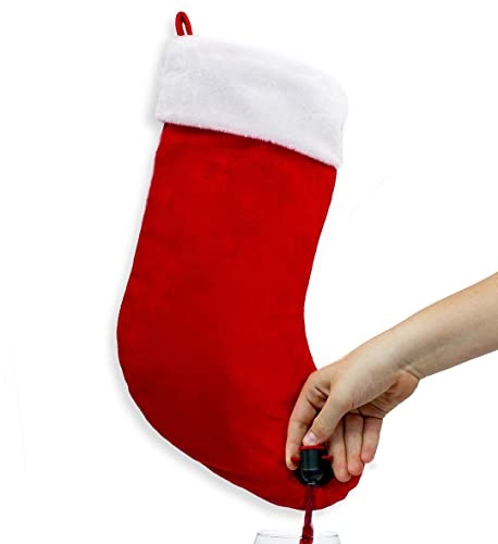 Sneeky Santas Stocking Flask
