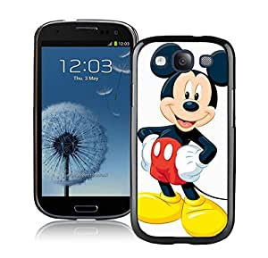 Beautiful Designed Case With Mickey Mouse Christmas 3 Black For Samsung Galaxy S3 I9300 Phone Case