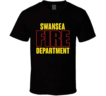 Swansea Fire Department Personalized City T Shirt | Amazon com