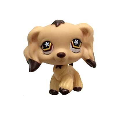 Mamum Rare Littlest Pet Shop Cream Tan Brown Pelo Corto Gato ...