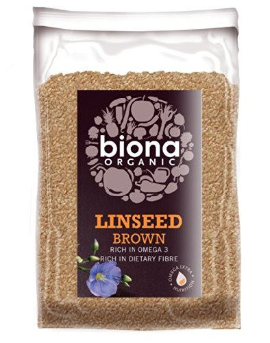 Biona Organic Linseed Brown 500g]()
