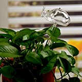 Automatic Potted Waterer Self Plant Watering Bird Glass Drip Auto Feeder Smart House indoor Desk Plants Food Water Container Can Irrigation Irrigator Controller Drippers Adapter kids (3pcs Ladybug)