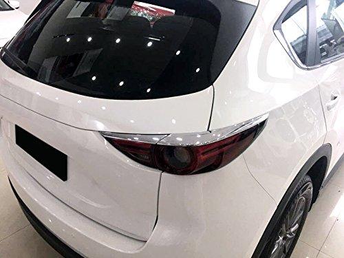 F/ür CX-5 CX5 2017 2018 2019 Exterieur R/ücklichter Dekor ABS Kunststoff Verchromt 4 St/ück