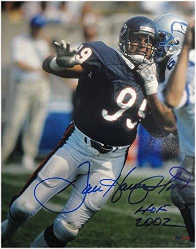 Dan Hampton Hand Signed Autographed 16x20 Photo Chicago Bears #99 Hof 2002 Large
