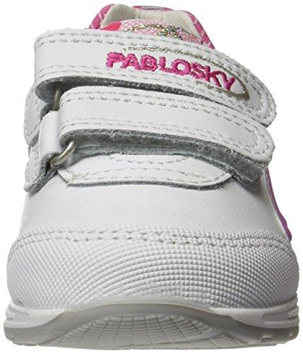 Pablosky Mädchen 266200 Turnschuhe Weiß (Weiß)