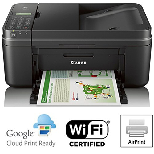 Canon PIXMA MX492 WiFi All-In-One Compact Size Inkjet Printer (0013C002) w/ Canon Black Ink Bundle Includes, Genuine Canon Black Fine Ink Cartridge, 6-Outlet Surge Adapter & 1 Year Extended Warranty by Beach Camera (Image #6)