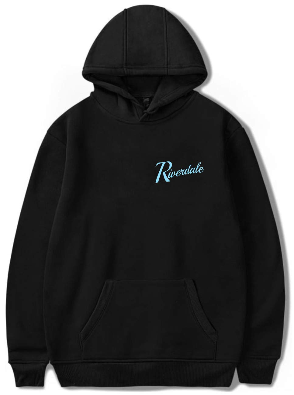 SERAPHY Unisex Hoodie Riverdale Southside Serpents Sweatshirt Black S by SERAPHY (Image #1)