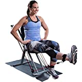 Fitness Product Weider Bungee Bench Total Body Workout System. Focuses Upper-body, Core, & Lower-body Movements When You Clip Into the Adjustable Handles. Complete a Full Workout Completely Seated.