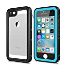 iPhone 5/5S/SE Waterproof Case, NINECRE iPhone SE 5s 5 Case with Screen Protector
