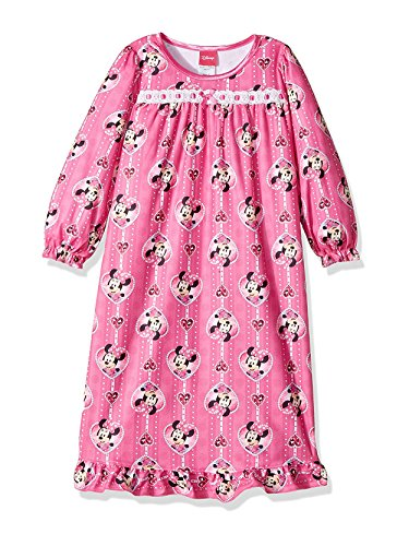 Disney Minnie Mouse Little Girls' Toddler Nightgown - pink/multi, 2t ()