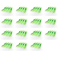15 x Quantity of Hubsan X4 H107D Transparent Clear Green Propeller Blades Props Rotor Set 55mm Factory Units
