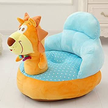 Amazoncom Super Cute Plush Toy Bean Bag Chair Seat For Children - Animal-chairs-for-children