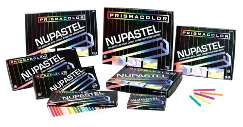 - Prismacolor Nupastel Set, 72 Colored Pastels(27053)