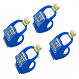 4-Pack Blue Portable Marine LED Boating Lights