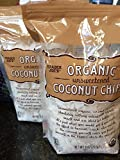 Trader Joe's Organic Unsweetened Coconut Chips (Pack of 2) For Sale
