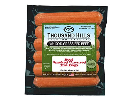 Uncured Beef Hot Dogs 2 oz